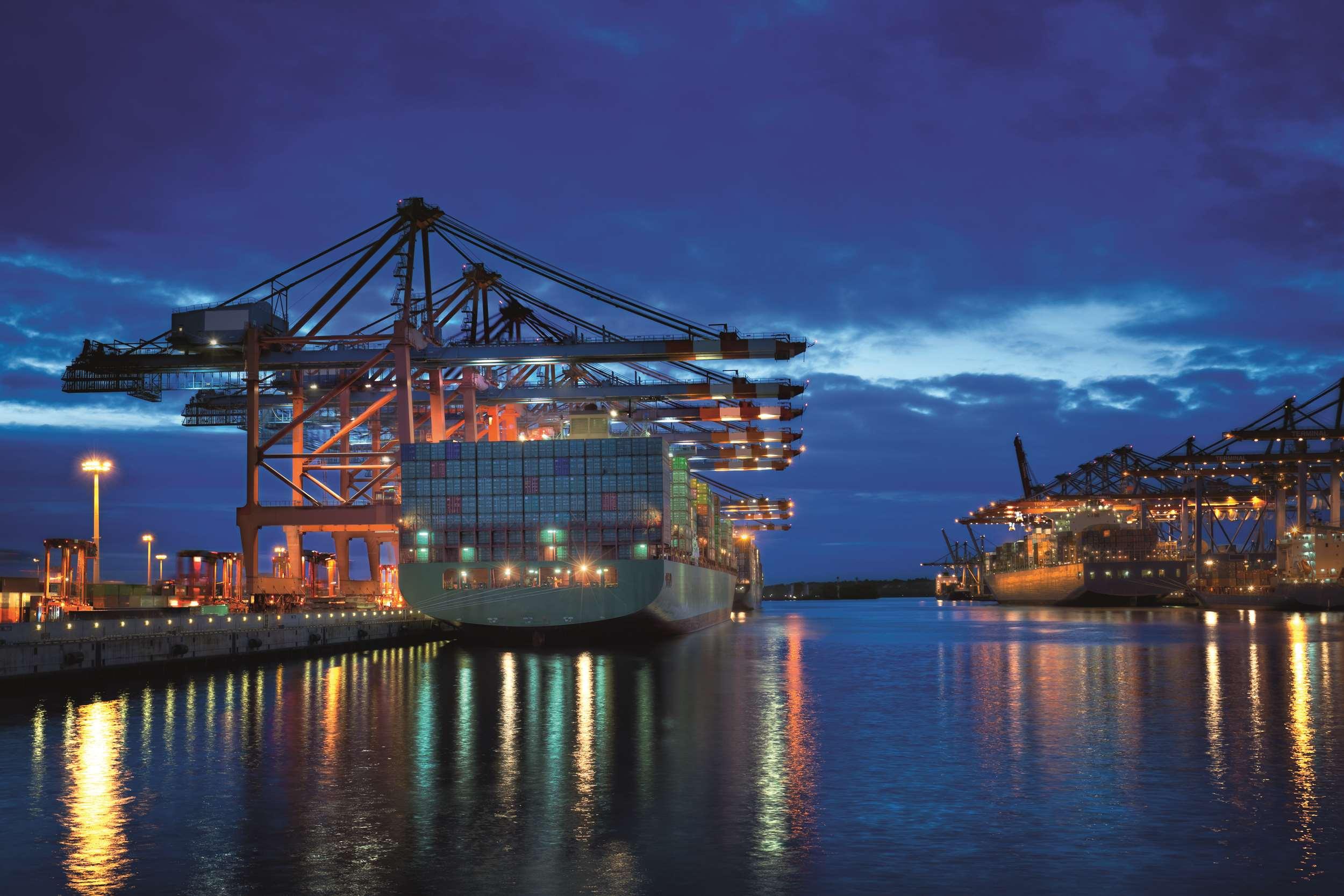 Harbour Crane brakes